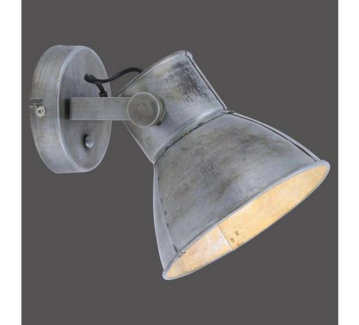 WANDLEUCHTE - Grau, Trend, Metall (17/21/19cm)