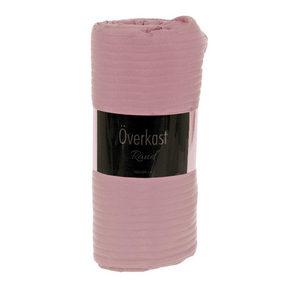 SÄNGÖVERKAST - rosa, Basics, textil (260/260cm)