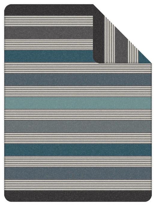 WOHNDECKE 150/200 cm - Blau/Grau, KONVENTIONELL, Textil (150/200cm) - Novel