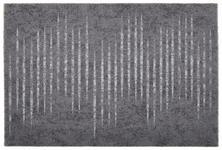 FUßMATTE 60/90 cm Streifen Grau, Hellgrau, Dunkelgrau  - Dunkelgrau/Hellgrau, Basics, Textil (60/90cm) - Esposa