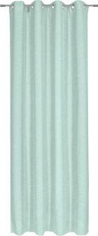ÖSENSCHAL  halbtransparent  140/245 cm - Mintgrün, KONVENTIONELL, Textil (140/245cm) - ESPOSA