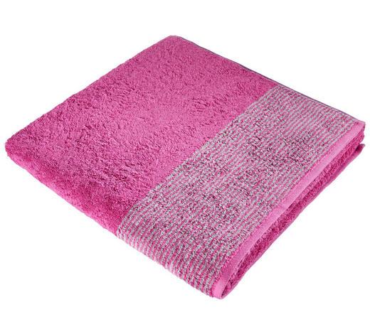 DUSCHTUCH 80/150 cm  - Beere, KONVENTIONELL, Textil (80/150cm) - Cawoe