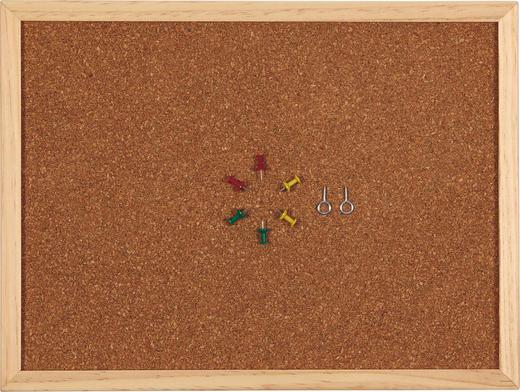 PINNWAND - Hellbraun, Basics, Holz (60/80/1cm)