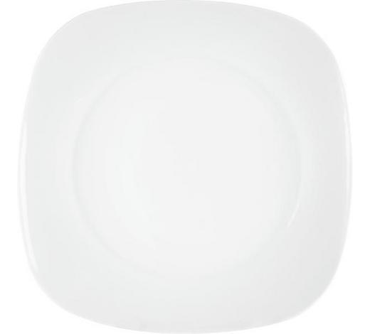 TALÍŘ JÍDELNÍ, super bílý porcelán - bílá, Basics, keramika (27,5cm) - Homeware