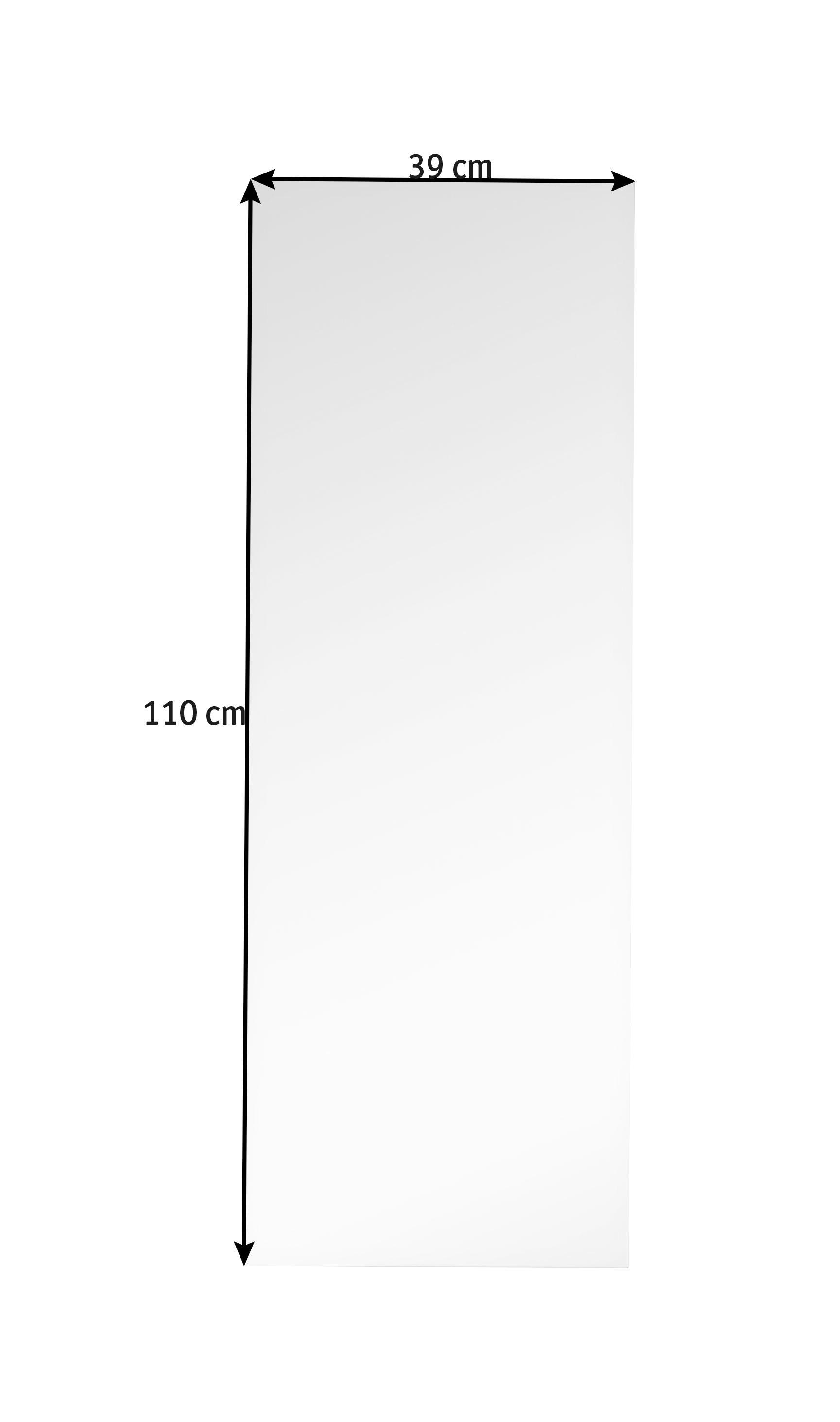 SPEGEL - silver, Design (39/110/0,3cm) - BOXXX