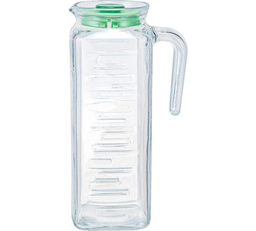 KÜHLSCHRANKKRUG 1,2 L - Klar, Basics, Glas (8,5/8,5/24cm) - Homeware