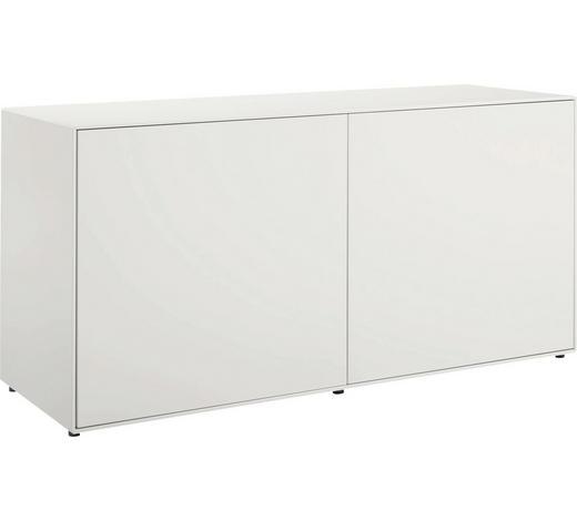 LOWBOARD 128/64/44,8 cm  - Weiß, Design, Holzwerkstoff (128/64/44,8cm) - Now by Hülsta