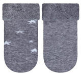 Socken 2-er Pack - Weiß/Grau, Basics, Textil (17/18null) - My Baby Lou