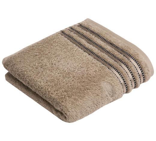 DUSCHTUCH 67/140 cm  - Sandfarben, Design, Textil (67/140cm) - Vossen