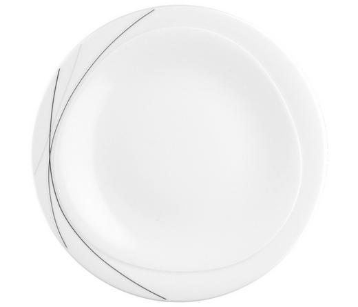 Porzellan  DESSERTTELLER  rund - Weiß, Basics (23cm) - SELTMANN WEIDEN