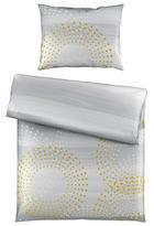 BETTWÄSCHE 140/200 cm - Goldfarben/Weiß, KONVENTIONELL, Textil (140/200cm) - Novel