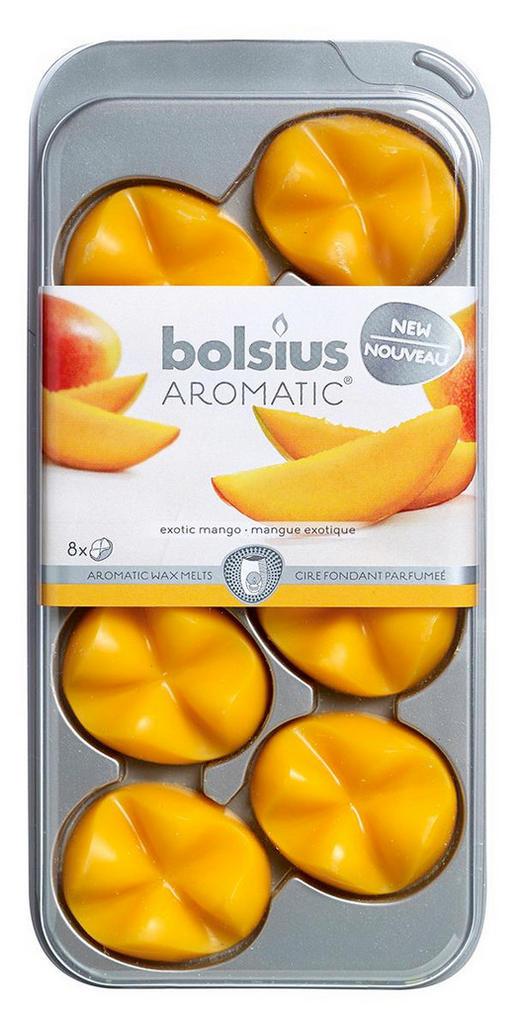 DUFTWACHS Mango - Orange, Basics, Weitere Naturmaterialien (9,3/19,5/1,7cm) - Bolsius