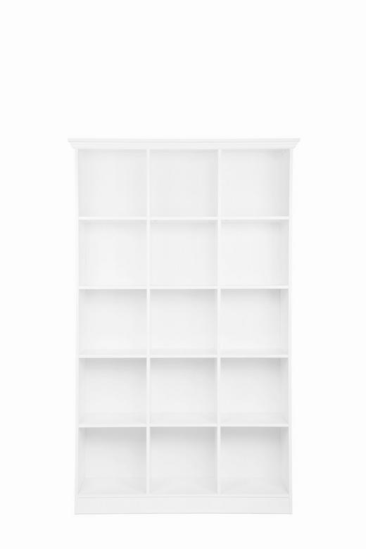 REGAL Melamin Weiß - Weiß, LIFESTYLE, Holzwerkstoff (110/185/38cm) - Carryhome