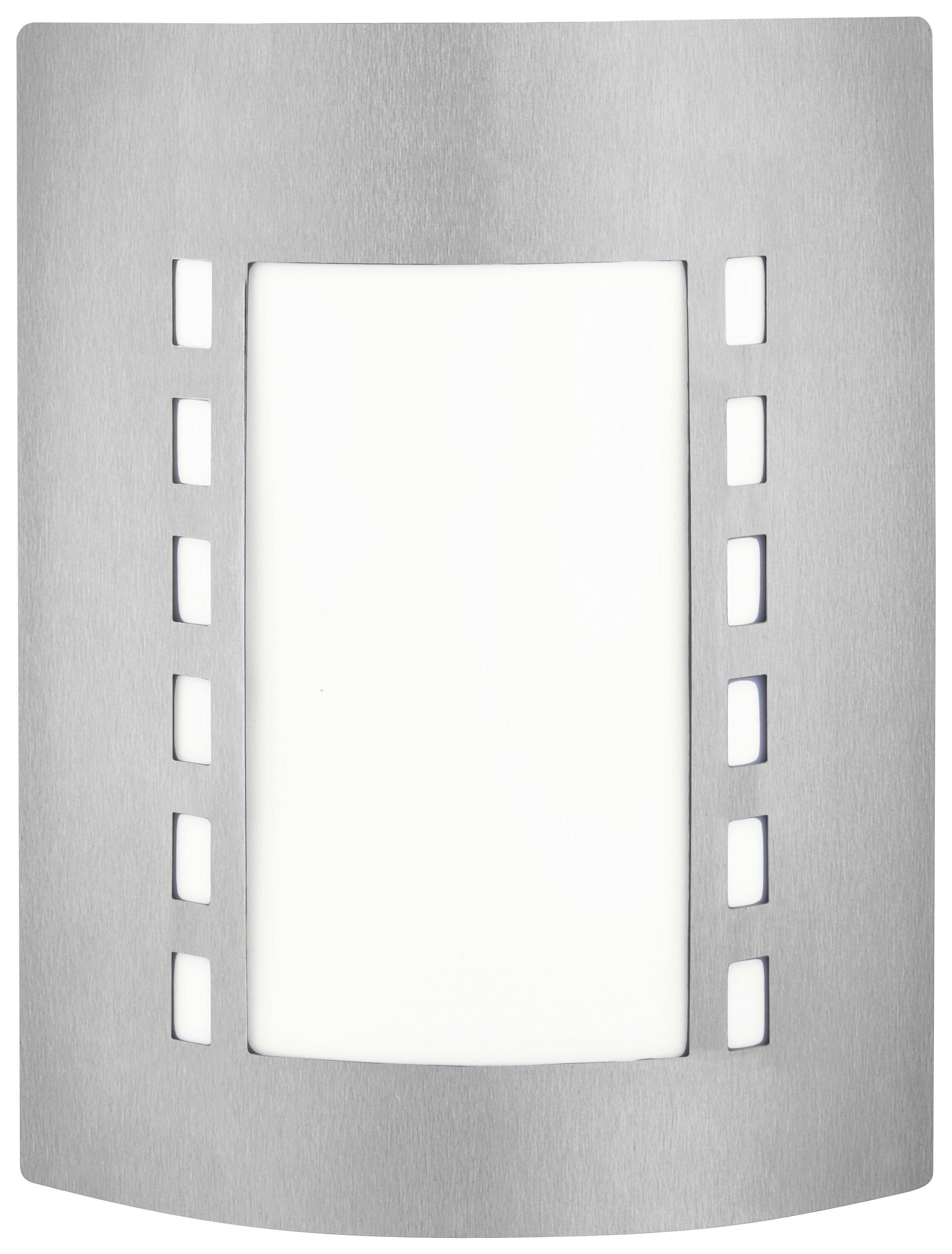 AUßENLEUCHTE - Weiß, KONVENTIONELL, Kunststoff/Metall (23/29/9,2cm) - BOXXX