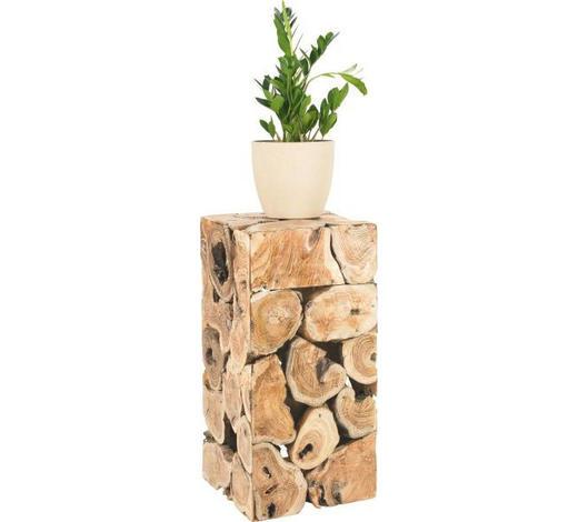 STOJAN NA KVĚTINY, teakové dřevo, přírodní barvy - přírodní barvy, Lifestyle, dřevo (40/80/40cm) - Landscape