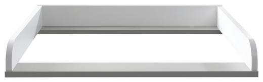 WICKELANSATZ Faro - Weiß, Design (117,3/12,5/79,2cm) - Paidi
