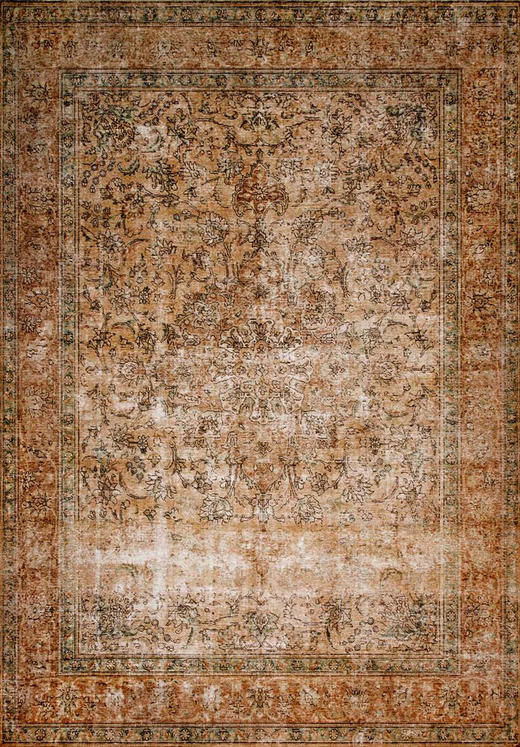 VINTAGE-TEPPICH - Terra cotta, LIFESTYLE, Textil (190/290cm) - Novel