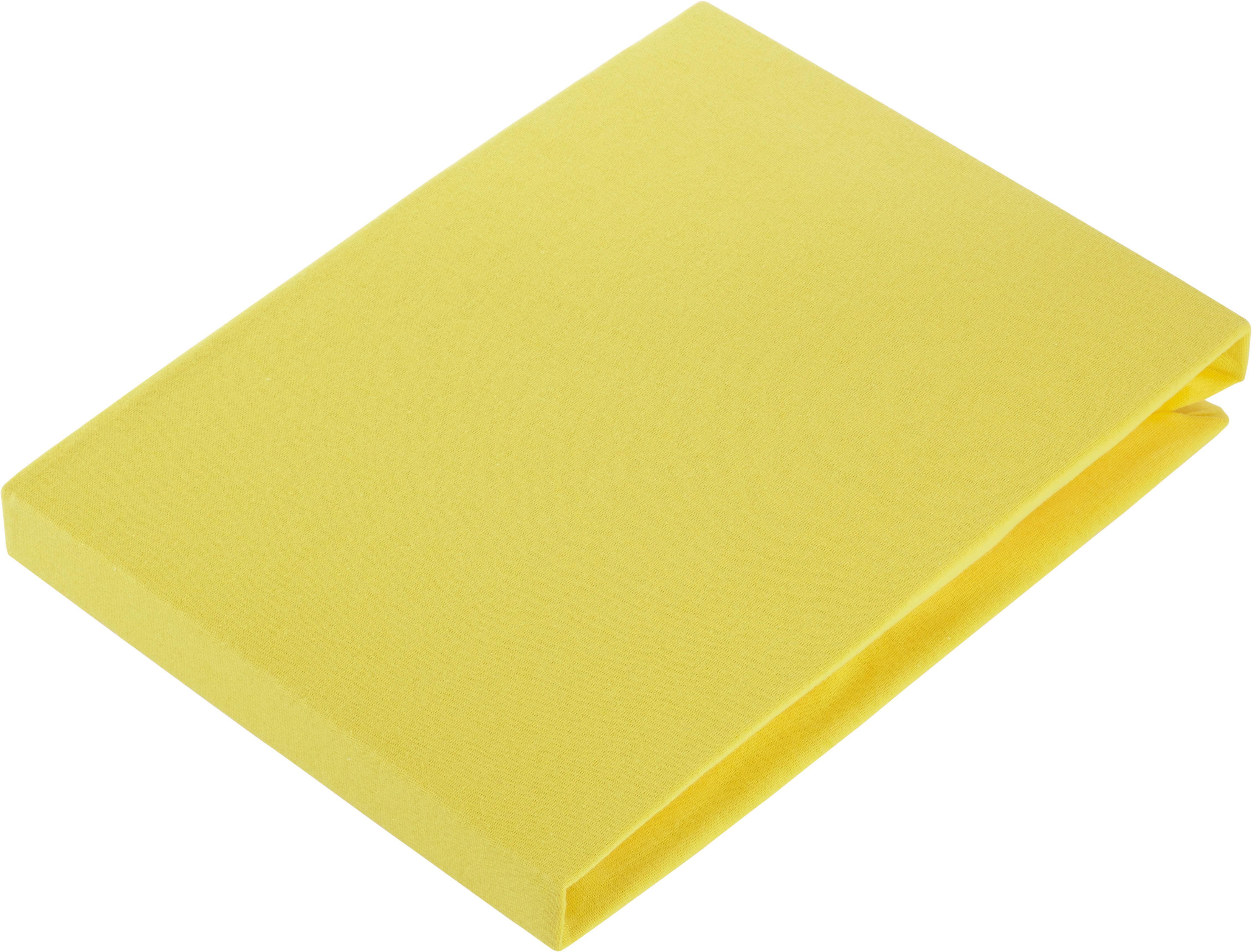 PLAHTA S GUMICOM - žuta, Konvencionalno (180/200cm) - FLEURESSE