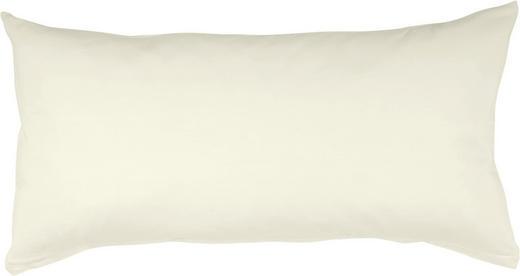 KOPFKISSENBEZUG Weiß 40/80 cm - Weiß, Basics, Textil (40/80cm) - SCHLAFGUT