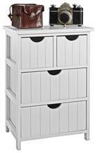 KOMMODE - Weiß, Design, Holz/Holzwerkstoff (40/57/29cm) - Carryhome
