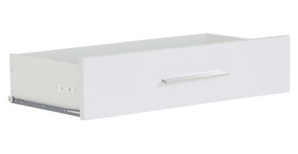 SCHUBKASTENEINSATZ - Weiß, KONVENTIONELL, Holzwerkstoff (75,6/33,9/37cm) - Voleo