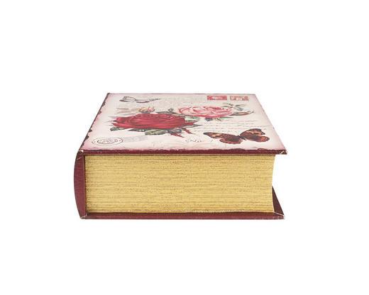 KUTIJA U OBLIKU KNJIGE - višebojno, Lifestyle, drvo/plastika (26/35/9cm) - Ambia Home
