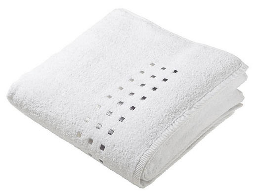 DUSCHTUCH 70/140 cm - Weiß, Basics, Textil (70/140cm) - Esposa
