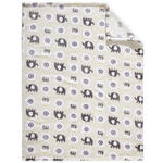SCHMUSEDECKE 75/100 cm  - Multicolor, Basics, Textil (75/100cm) - My Baby Lou