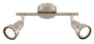 LED-STRAHLER   - Nickelfarben, KONVENTIONELL, Metall (25/8cm) - Boxxx