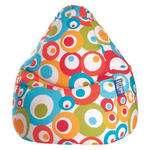 SITZSACK 220 L  - Multicolor, Design, Textil (110/70cm) - Carryhome