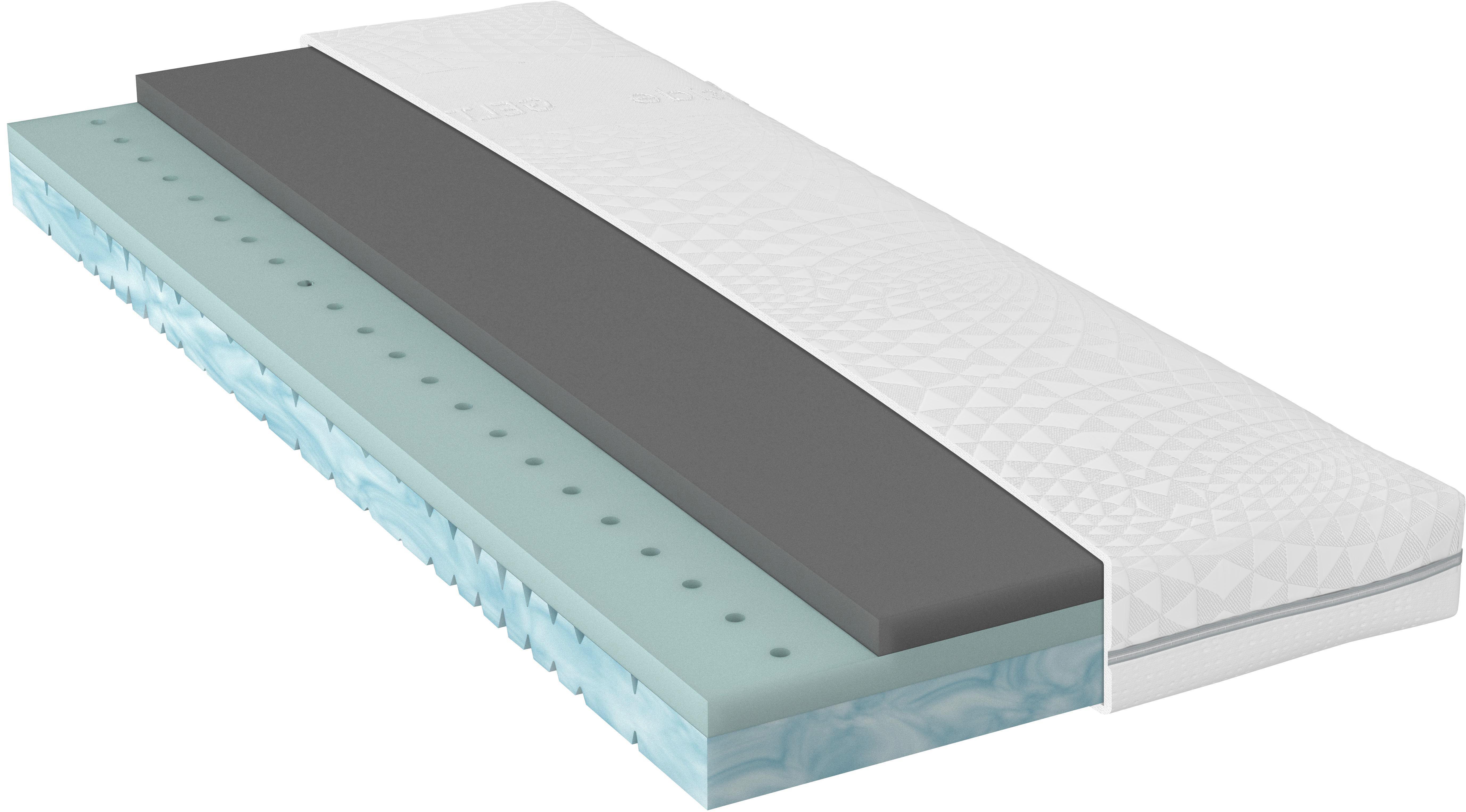 Bultexkern, GELTEX® MATRATZE 90/200 Cm   Weiß, Basics, Textil (