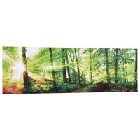 Bäume KEILRAHMENBILD - Multicolor, KONVENTIONELL, Holz/Textil (115/55/2,0cm) - Eurographics