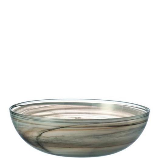 SCHALE Glas - Beige, Basics, Glas (28cm) - LEONARDO