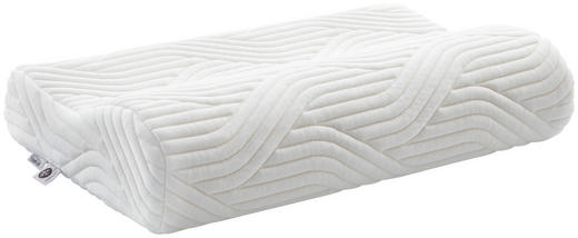 NACKENKISSEN - Weiß, Basics, Textil (50/31/11,5cm) - Tempur