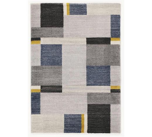 WEBTEPPICH  120/170 cm  Blau, Grau - Blau/Grau, Basics, Textil (120/170cm) - Novel
