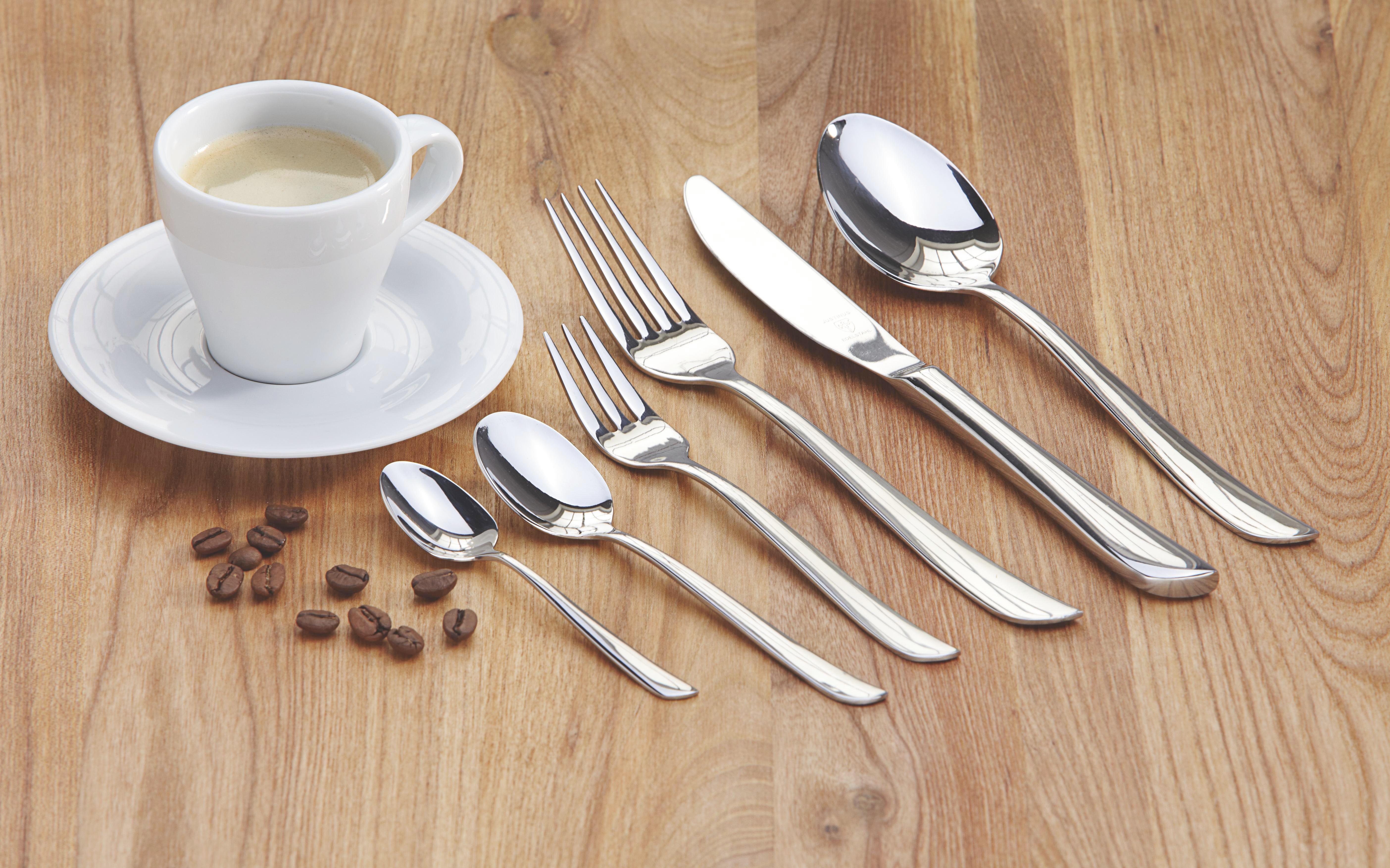 BESTICKSET - silver, Basics, metall - NOVEL
