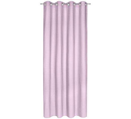 ÖSENVORHANG blickdicht - Rosa, Basics, Textil (140/245cm) - Esposa