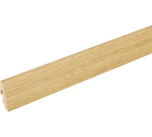 SOCKELLEISTE Eichefarben  - Eichefarben, Basics, Holz (240/1,9/3,85cm) - Homeware