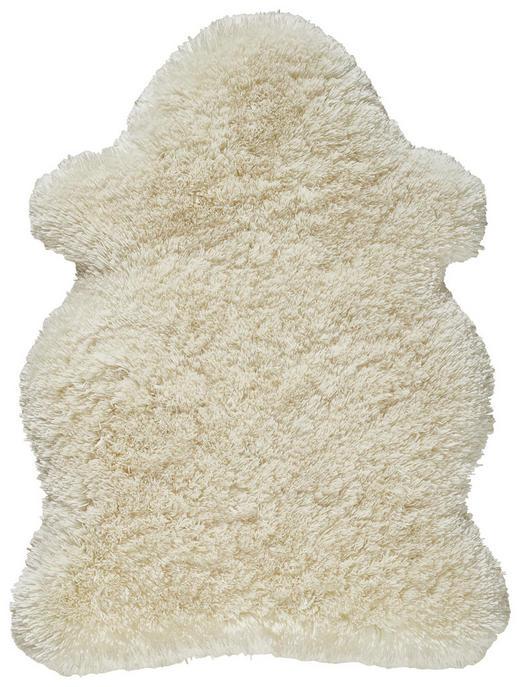 Schaffellimitat  90/120 cm  Weiß - Weiß, LIFESTYLE, Textil (90/120cm) - Novel