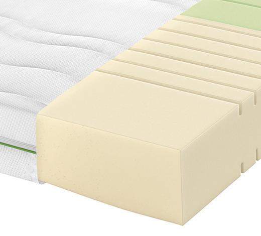 Partnermatratze Kaltschaum ROAD 230 COMFEEL PLUS 160/200 cm 18 cm - Weiß, Basics, Textil (160/200cm) - Schlaraffia
