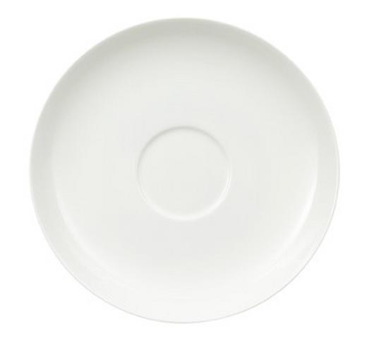 UNTERTASSE - Weiß, Basics, Keramik (18cm) - Villeroy & Boch
