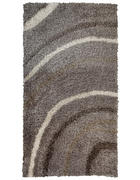 TEPIH VISOKOG FLORA - bež/smeđa, Basics, tekstil (80/150cm) - Novel