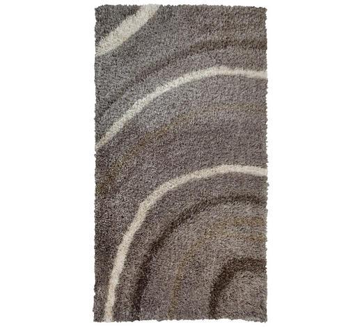 TEPIH VISOKOG FLORA - bež/smeđa, Basics, tekstil (160/230cm) - Novel