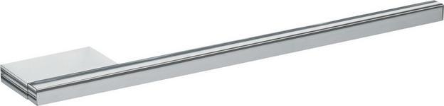 HANDTUCHHALTER 39/2/6 cm  - Chromfarben, Design, Metall (39/2/6cm) - Dieter Knoll