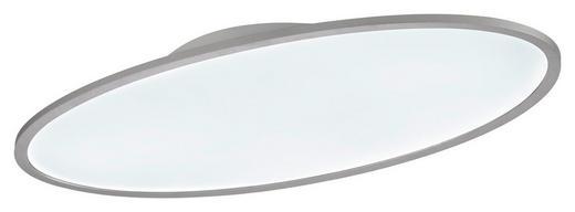 LED-PANEEL - Silberfarben/Weiß, Basics, Kunststoff/Metall (80/5,2/40cm) - Wofi