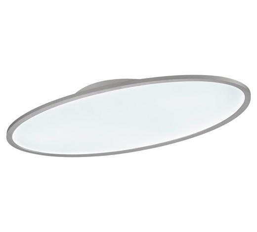 LED-PANEEL - Silberfarben/Weiß, Basics, Kunststoff/Metall (80/5,2/40cm)