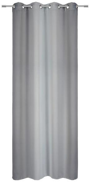 ÖLJETTLÄNGD - grå, Klassisk, textil (135/245cm) - Esposa