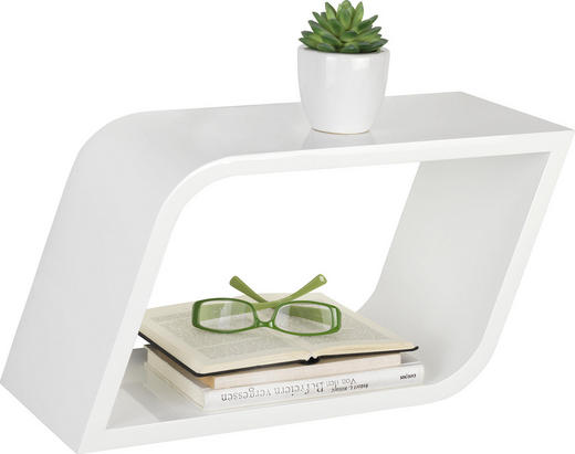 HÄNGEWÜRFEL-SET 3-teilig Weiß - Weiß, Design (56,5/30/20cm) - Xora