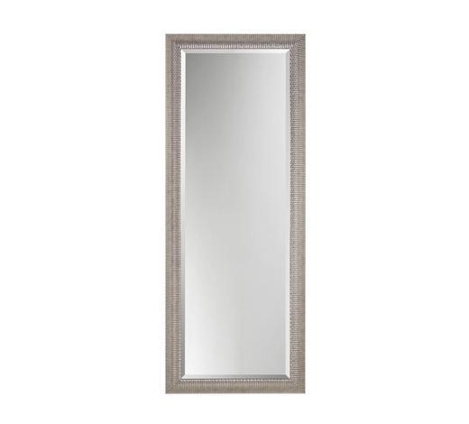 WANDSPIEGEL 70/180/8 cm - Silberfarben, Design, Glas/Holz (70/180/8cm)