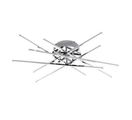 LED-DECKENLEUCHTE - Chromfarben, Design, Metall (68/12/68cm)